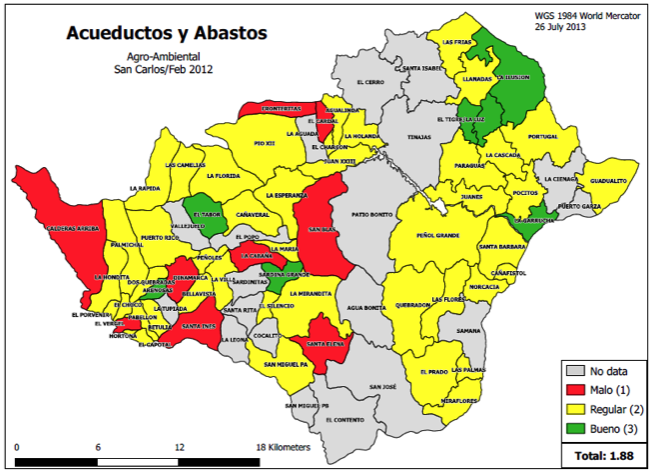 Maps-4-Acueductos y Abastos (water access)